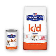 Hills Prescription Diet k/d Dog Food